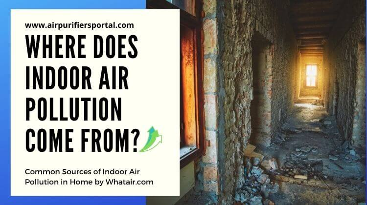 where does indoor air pollution come from