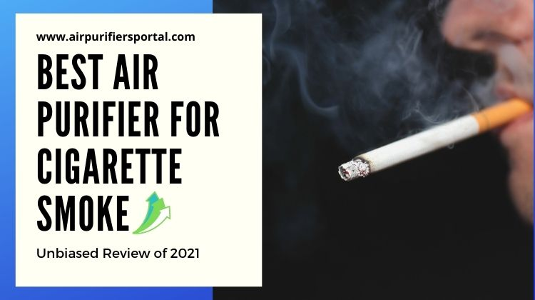 best air purifier for cigarette smoke smell