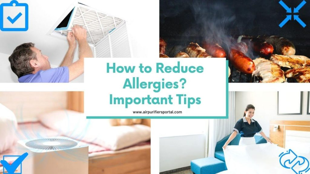 how to reduce allergies